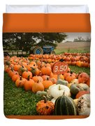 The Pumpkin Farm One Duvet Cover