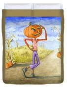 The Pumpkinhead Duvet Cover