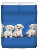 The Pups 1 Duvet Cover