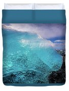 The Pure Blue Duvet Cover