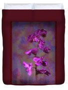 The Purple Orchid Duvet Cover