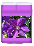 The Purple Sunny Day  Duvet Cover