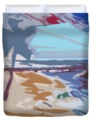 The Quay-seaside Duvet Cover