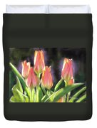 The Queen's Tulips Duvet Cover