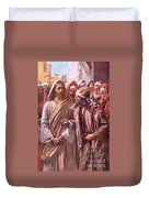 The Question Of The Sadducees Duvet Cover