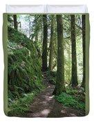 The Quiet Forest Duvet Cover