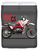 The R100gs Duvet Cover
