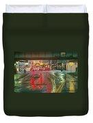 The Rain Painting Duvet Cover