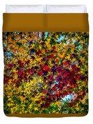 The Rainbow Tree Duvet Cover
