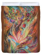 The Rainbow's Daughter Duvet Cover