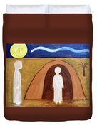 The Raising Of Lazarus Duvet Cover by Patrick J Murphy