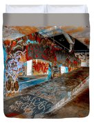 The Ramp At Night Duvet Cover