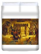The Ramparts Of God's House Duvet Cover