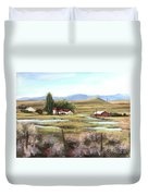 The Ranch Duvet Cover