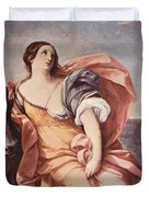 The Rape Of Europa 1639 Duvet Cover