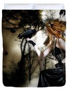 The Raven Duvet Cover by Shanina Conway