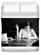 The Reader. Duvet Cover