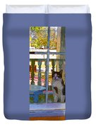 The Rear Window Duvet Cover