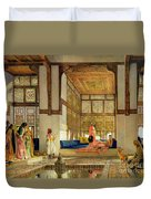 The Reception Duvet Cover by John Frederick Lewis