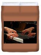 The Recital Duvet Cover