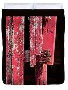 The Red Barn 4 Duvet Cover