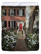 The Red Door - 2 Duvet Cover