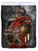 The Red Dragon Duvet Cover