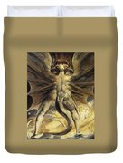 The Red Dragon And The Woman Clothed In Sun Duvet Cover