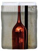 The Red Glass Bottke Duvet Cover