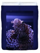 The Red Lionfish Duvet Cover
