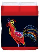 The Red Rooster Duvet Cover