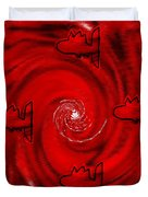The Red Sea Duvet Cover