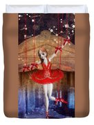 The Red Shoes Duvet Cover