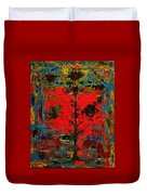 The Red Tree -or- Paint Duvet Cover