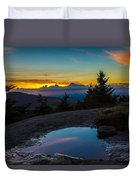 The Reflective Pool Duvet Cover