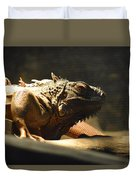 The Reptile World Duvet Cover