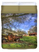 The Resting Place Shadows Duvet Cover