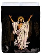 The Resurrection Duvet Cover by Milagros Palmieri