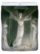 The Resurrection Duvet Cover by William Blake