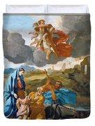 The Return Of The Holy Family From Egypt Duvet Cover