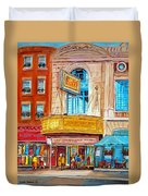 The Rialto Theatre Montreal Duvet Cover