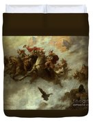 The Ride Of The Valkyries  Duvet Cover by William T Maud