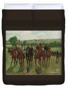 The Riders, 1885 Duvet Cover