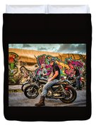 The Riders Duvet Cover