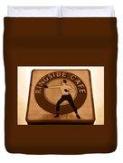 The Ringside Cafe Duvet Cover