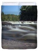 The River - Furnace Falls - Burnt River Duvet Cover