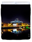 The River Liffey Reflections 2 Duvet Cover