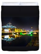 The River Liffey Reflections 3 Duvet Cover