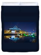 The River Liffey Reflections 4 Duvet Cover