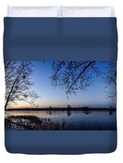 The River Nogat Duvet Cover